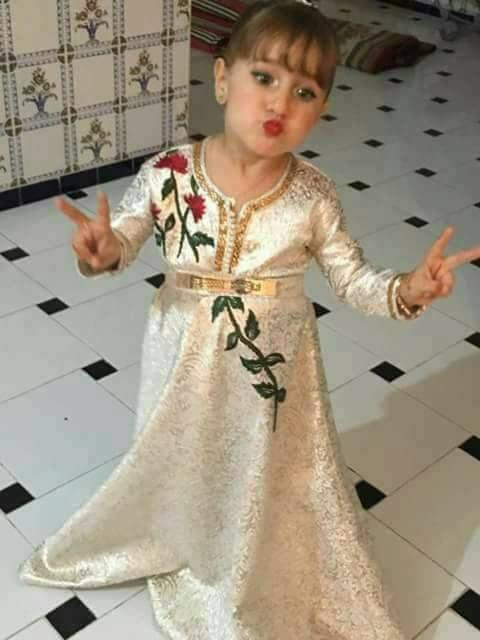 لباس مغربي للا طفال 7468-3
