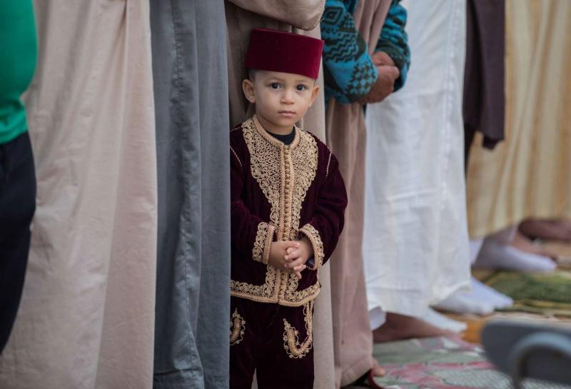 لباس مغربي للا طفال 7468-5