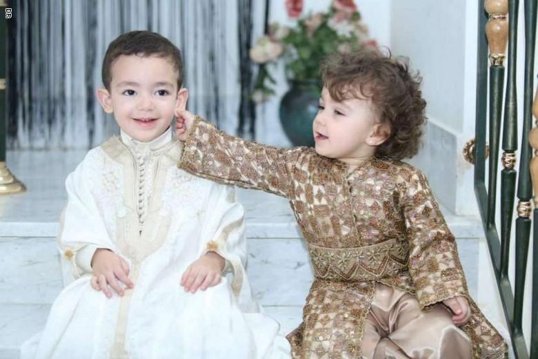 لباس مغربي للا طفال 7468-6