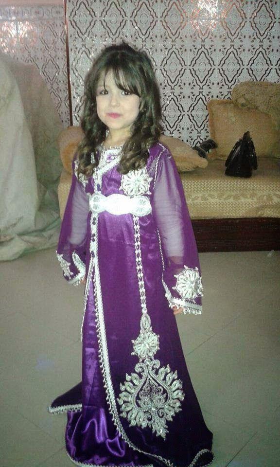 لباس مغربي للا طفال 7468-8