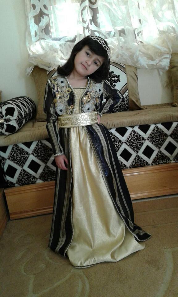 لباس مغربي للا طفال 7468-9