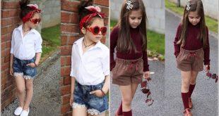 صورة ملابس بنات اطفال ، دلعي بنتك باحلي الموديلات 740 11 310x165